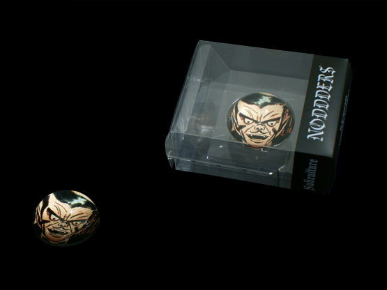 Comics vampire glass for noddders headphones