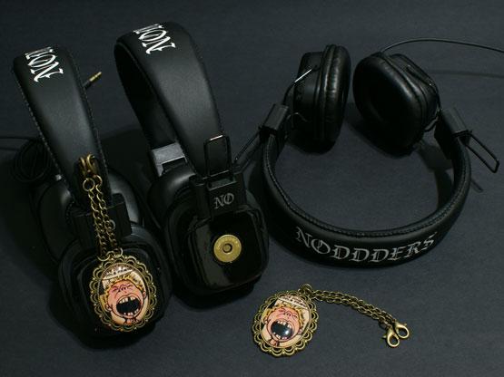 old comics headphones