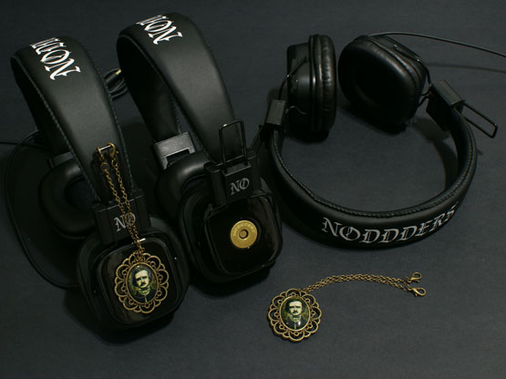 Edgar Allan Poe Headphones