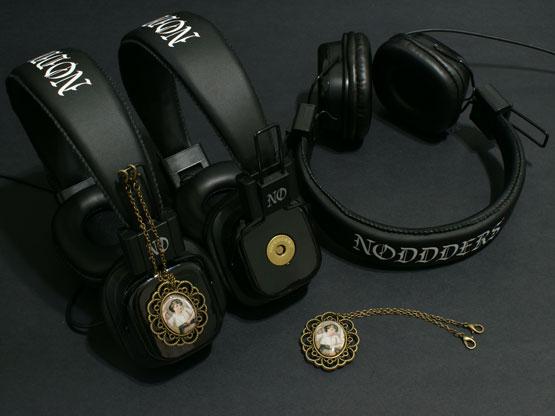 Trendy vintage headphones