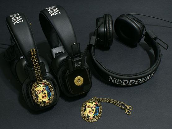 Horror character headphones