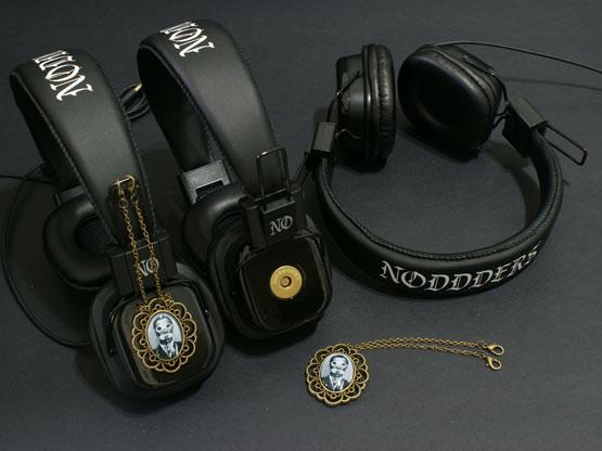 steampunk pendant headphones