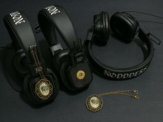 old movie pendant headphones