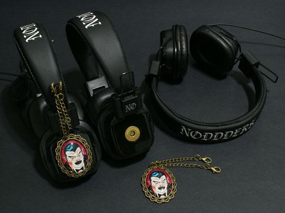 vampire dracula headphones