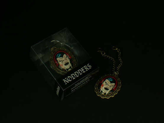 vintage comics vampire headphones accessory