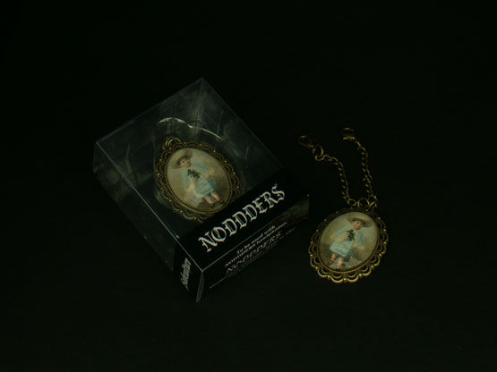 Vintage collectable headphones pendant