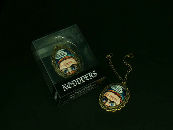 Underground comics pendant for Noddders headphones