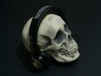 SkullWithAllanPoe