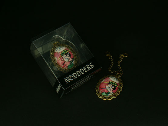 Underground cartoon pendant for headphones