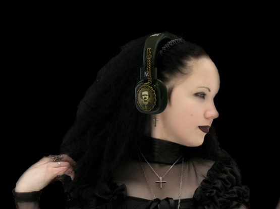 Goth Headphones